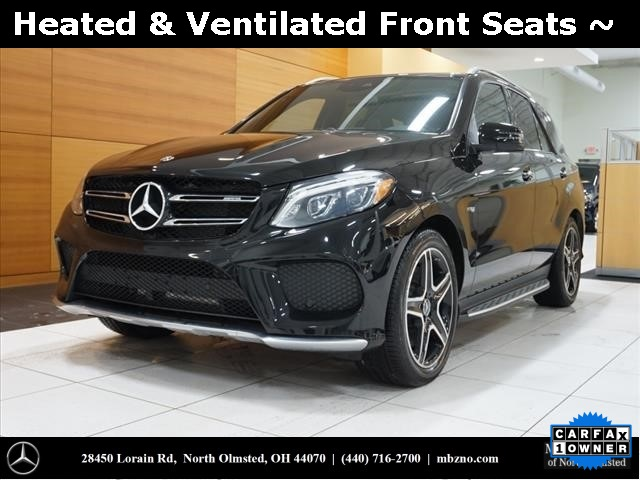 Certified Pre Owned 2017 Mercedes Benz Gle Amg 43 Suv
