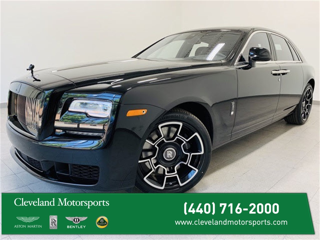 Pre-Owned 2019 Rolls-Royce Ghost Black Badge
