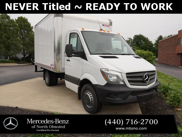Certified Pre-Owned 2018 Mercedes-Benz Sprinter 144 WB BOX TRUCK