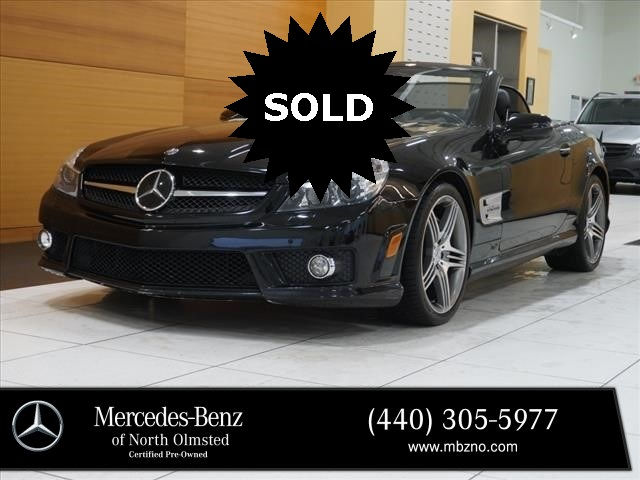 Pre-Owned 2011 Mercedes-Benz SL-Class SL 63 AMG®