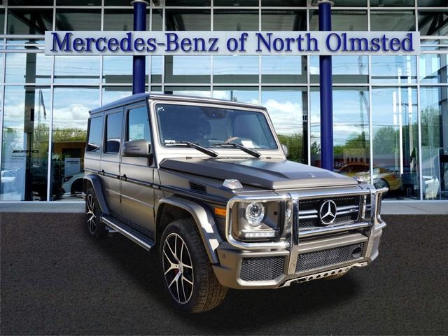 New 2018 mercedes benz g class amg g 63 suv suv in north for Mercedes benz of north olmsted used cars