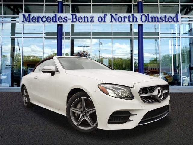 Mercedes Pre Owned >> Pre Owned 2018 Mercedes Benz E Class E 400 Sport Cabriolet In North