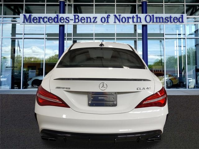 Pre owned 2018 mercedes benz cla amg cla 45 coupe coupe for Mercedes benz of north olmsted used cars