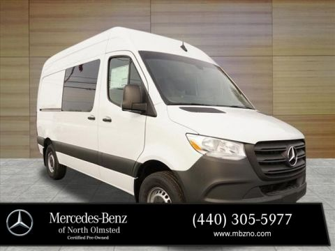 New 2019 Mercedes-Benz Sprinter Crew 144 WB