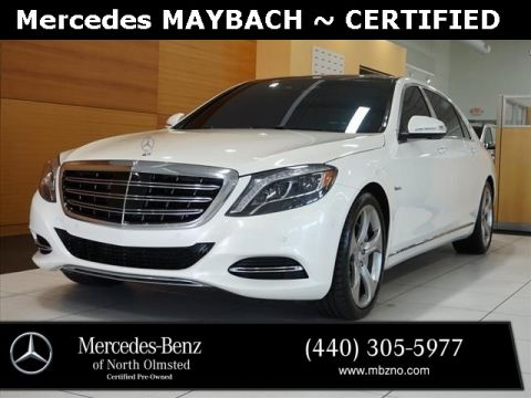 Certified Pre-Owned 2017 Mercedes-Benz S-Class Maybach S 550